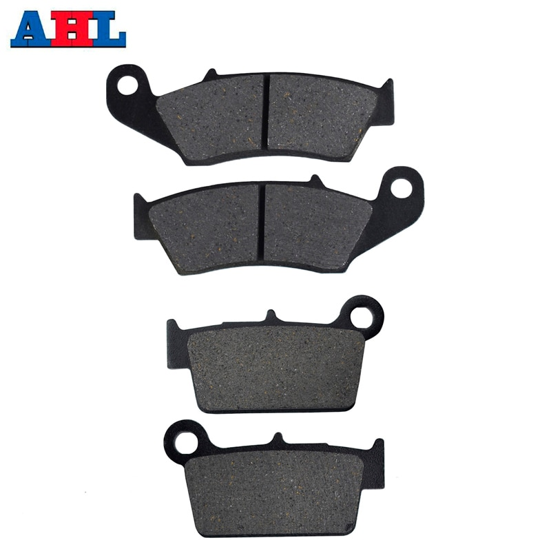 Motorcycle Front Rear Brake Pads Discs For YAMAHA YZ125 YZ250 R S T W V 2T 2003-2007 YZ250F WR250F W
