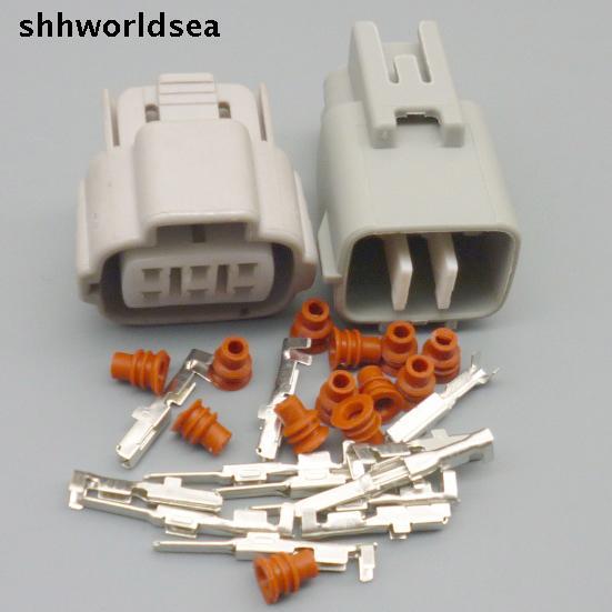 shhworldsea 6 pin 6Way  car electric plug  6Pin TS Accelerator Pedal Automotive Connector plug  For Toyota 6188-0175 6189-0323
