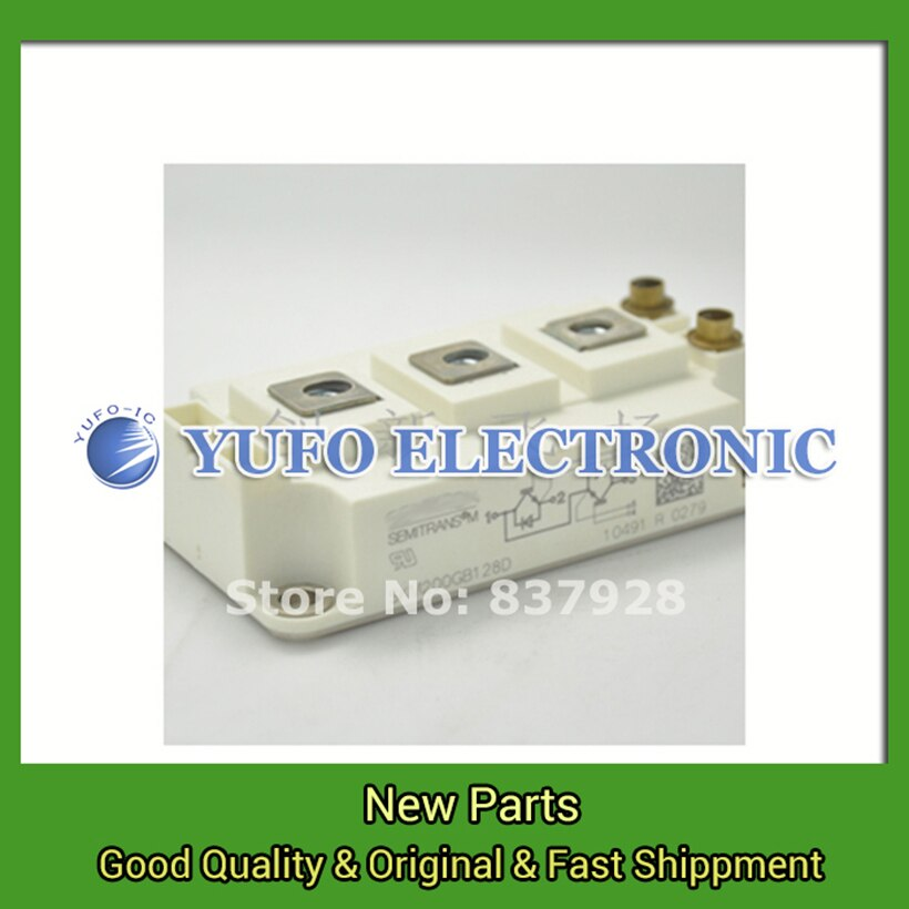 Free Shipping 1PCS SKM200GB128D new original special power supply Module