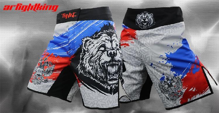 Спортивные боксерские шорты MMA, борцовские шорты, тайские боевые фитнес-шорты для мужчин, собак, brother, venom, seekbeg