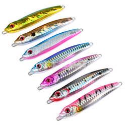 7x100g/10 cm Micro Gabaritos Borboleta Lento Iscas Isca De Metal Faca Gabaritos Atum Jigging Snapper Kingfish slatwater Crank Swimbait Enfrentar