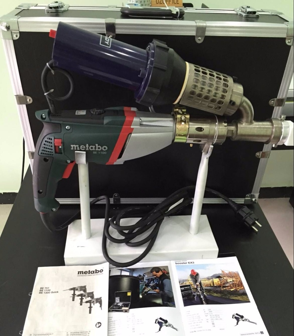Экструдер для сварки, новая модернизация! Метабо BE1300 WELDEY 3400 Вт, GEOMEMBRANE экструдер HDPE PP