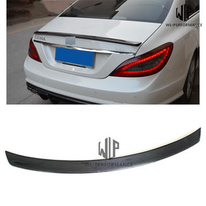 W218 Carbon Fiber Rear Spoiler Wings Car Styling For Mercedes-Benz CLS Class W218 CLS320 CLS63 Car Body Kit 2012-UP