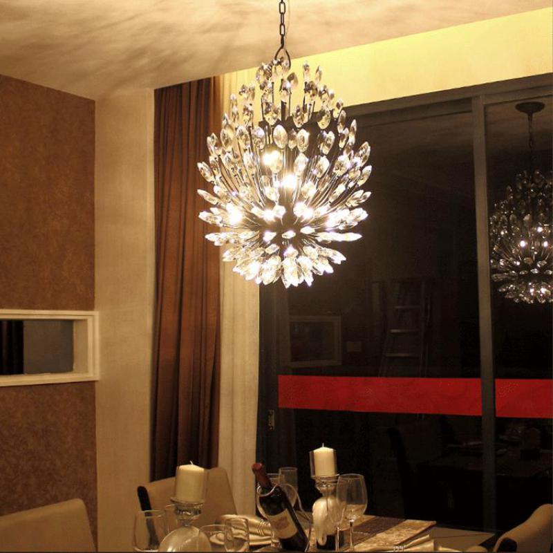 Estilo americano simplicidad G9 lámparas Led Retro iluminación salón lámpara colgante lámpara restaurante tienda de ropa moderna colgante Luz