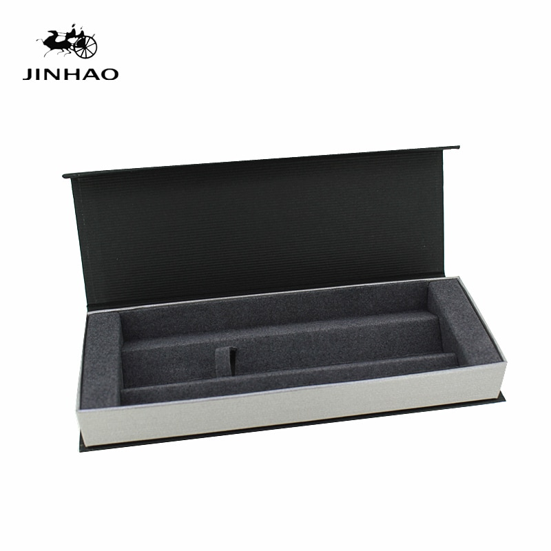 High Quality Pencil Case Luxury Pen Box For Fountain Pen Roller Ball Pen Jin Hao pen box Stationery Student
