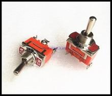 Lot de 2 broches SPDT 3 positions   Interrupteur à bascule 15A 250VAC neuf 1122