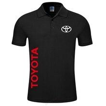 Neue 2019 Top Qualität männer der Toyota Polo hemd einfarbig Mode männer kleidung