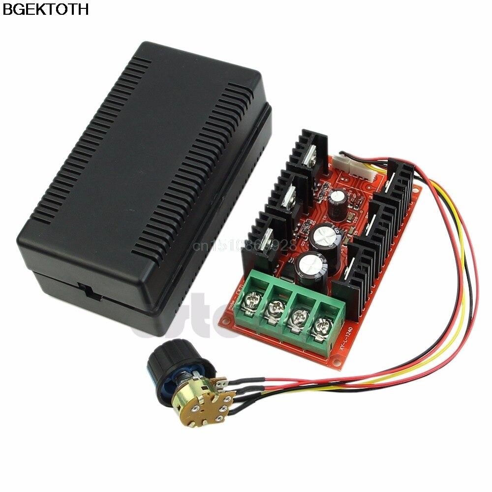 Moteur contrôle de la vitesse 12V 24V 48V 2000W MAX 10-50V 40A DC contrôleur HHO RC PWM 1 pièce