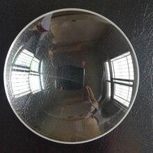135mm Dia K9 verre optique distance focale 245mm grand Double convexe blanc optique verre lentille loupe lentilles