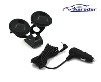 radar detector suction cup and car charger dc3 5 port for karadar car anti radar detector