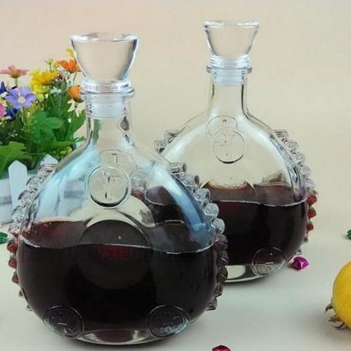 1PC 750ml Brand New Glass Wine Bottle Wine Water Jug Whiskey Beer Bottle Wine Decanter Dispenser Liquor Shaker J1089