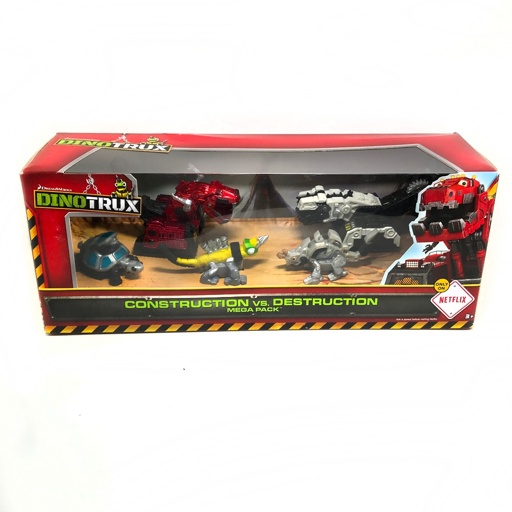 شاحنة ديناصور دينوتروكس ، لعبة سيارة صغيرة قابلة للإزالة ، نماذج جديدة للأطفال ، ألعاب هدايا 1:64 لعبة معدنية