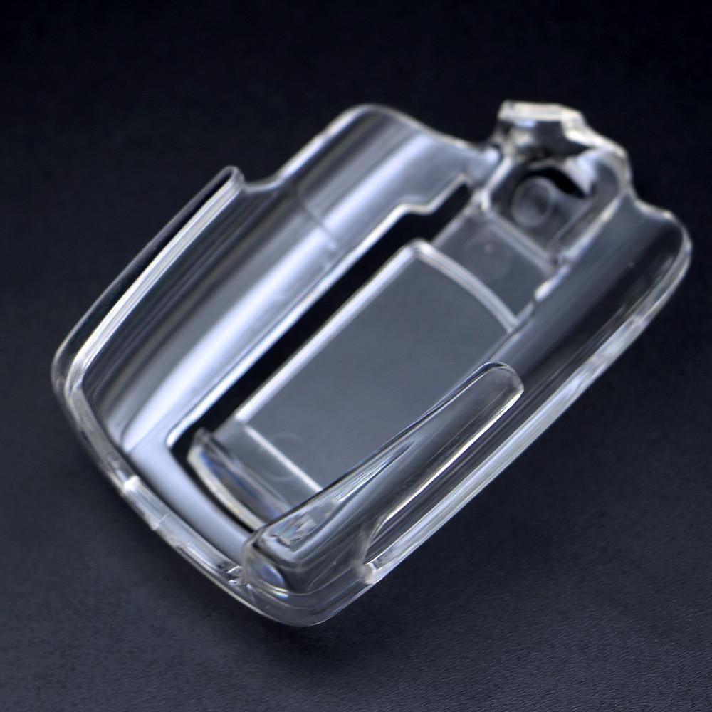 Transparente M5 funda protectora llavero para Scher-Khan Magicar 5 Lcd remoto dos coche controlador remoto de alarma sistema de