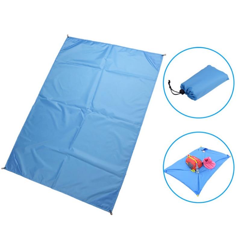 Beach Mat Magic Portable Waterproof Travel Outdoor Ground Mat Camping Picnic Mat Sandless Blanket Sleeping Pad & Tent Nail