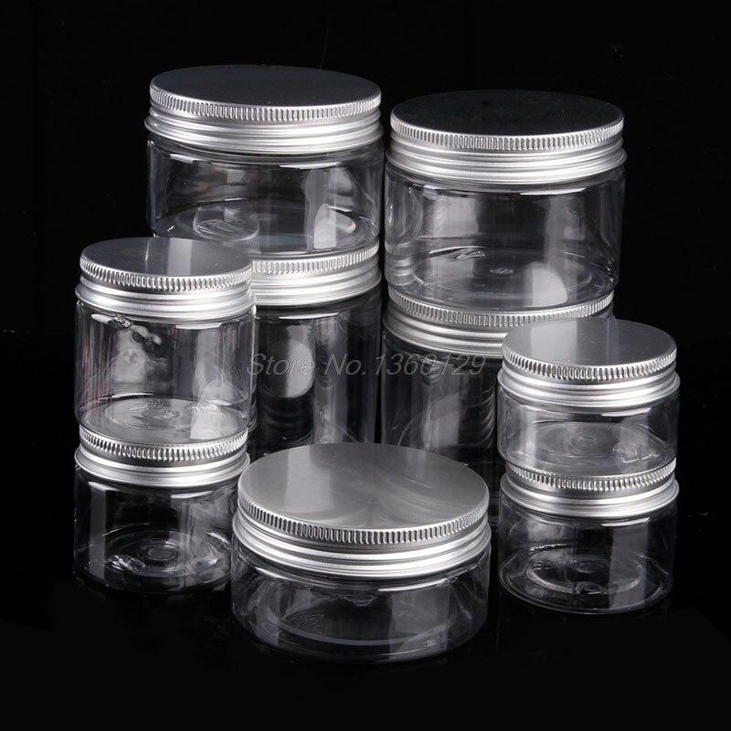 Frasco de bálsamo labial de 30-250ML con tapa de aluminio para cosméticos al por mayor y envío directo