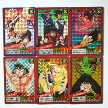 43 pièces/ensemble Super Dragon Ball Z combat 3 réédition héros bataille carte Ultra Instinct Goku végéta jeu cartes de Collection
