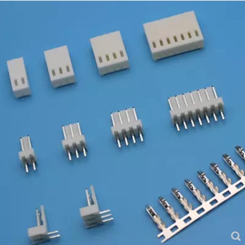 2 juegos de conector de cabecera 2510 2,54 bloque de terminales de conector de repuesto 2p-20p
