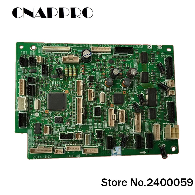 1 Pc/lote RM1-7102 RM17102 DC Placa Controladora Painel Assembléia Para Hp Laser Jet LJ M 4555 M4555 MFP M4555MFP Genuíno impressora
