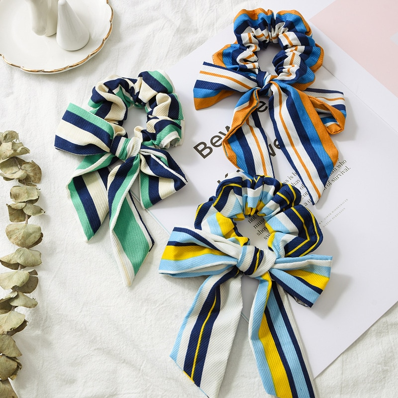 Meninas acessórios para o cabelo cor pura Moda Elásticos Corda Flor cocar Adornam O Artigo Pequeno adornar Criativo elastic hairband