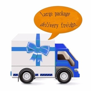 Large package delivery freight