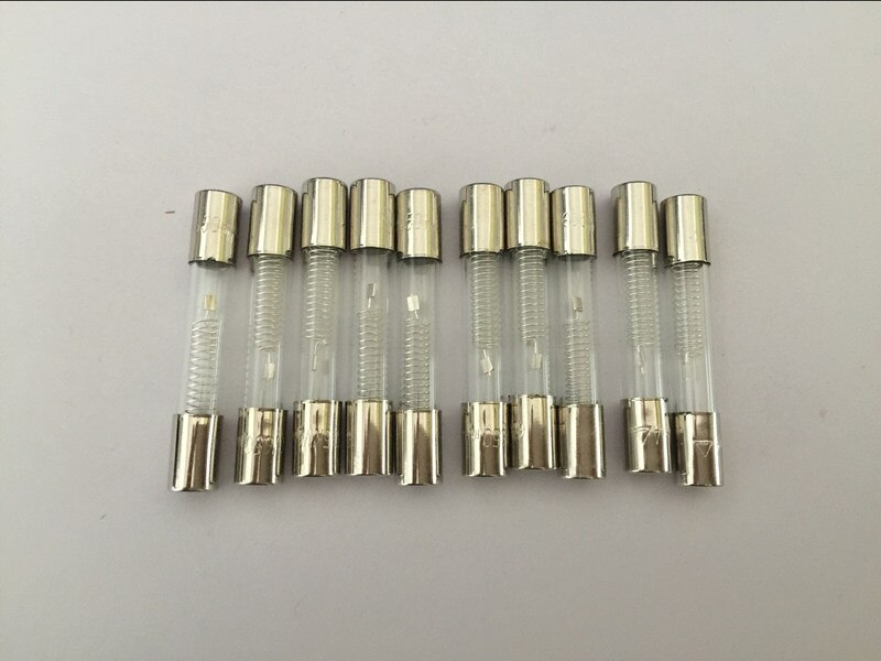 10 Uds 5KV 0.65A 650mA horno de microondas de alta tensión fusible