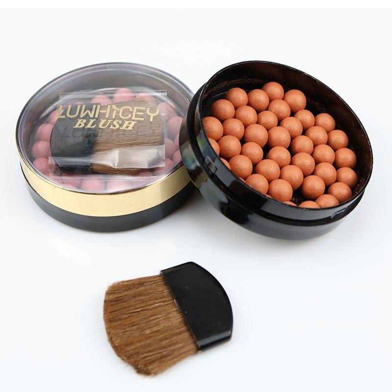 Maquillaje facial colorete Ball Matte mejillas pigmentos de larga duración resistente al agua control de aceite contorno Blush belleza maquillaje cosméticos