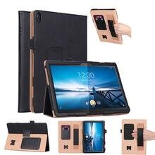 Pour Lenovo Tab M10 FHD Rel TB-X605FC TB-X605LC Housse Onglet P10 TB-X705L M10 TB-X505X TB-X605L Funda Tablette Porte-Main Coquille