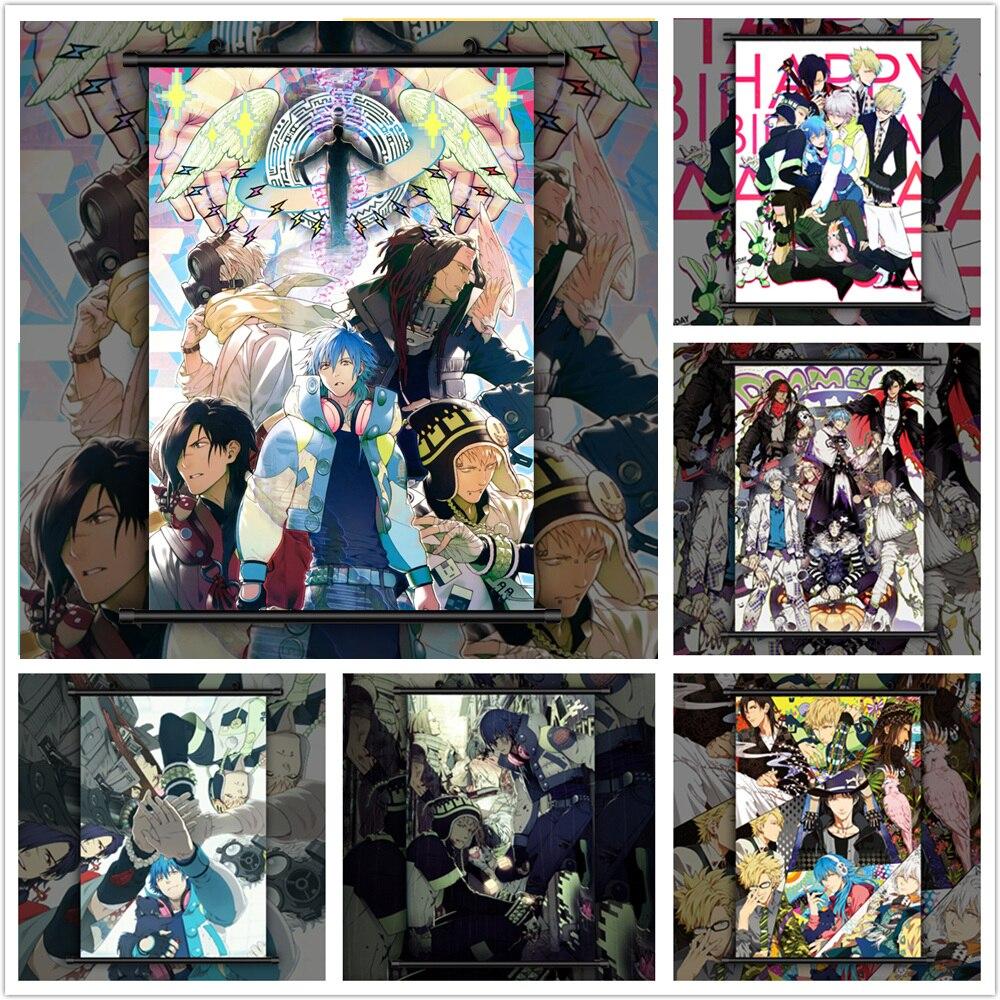Dramático asesinato grupo Seragaki Aoba Noiz Anime pared cartel desplazamiento D