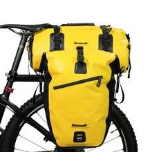 Rhinowal sacs à bagages de vélo entièrement imperméables sac de voyage Multi vélo de route porte-bagages arrière tronc vélo selle de stockage sacoche 20L 27L
