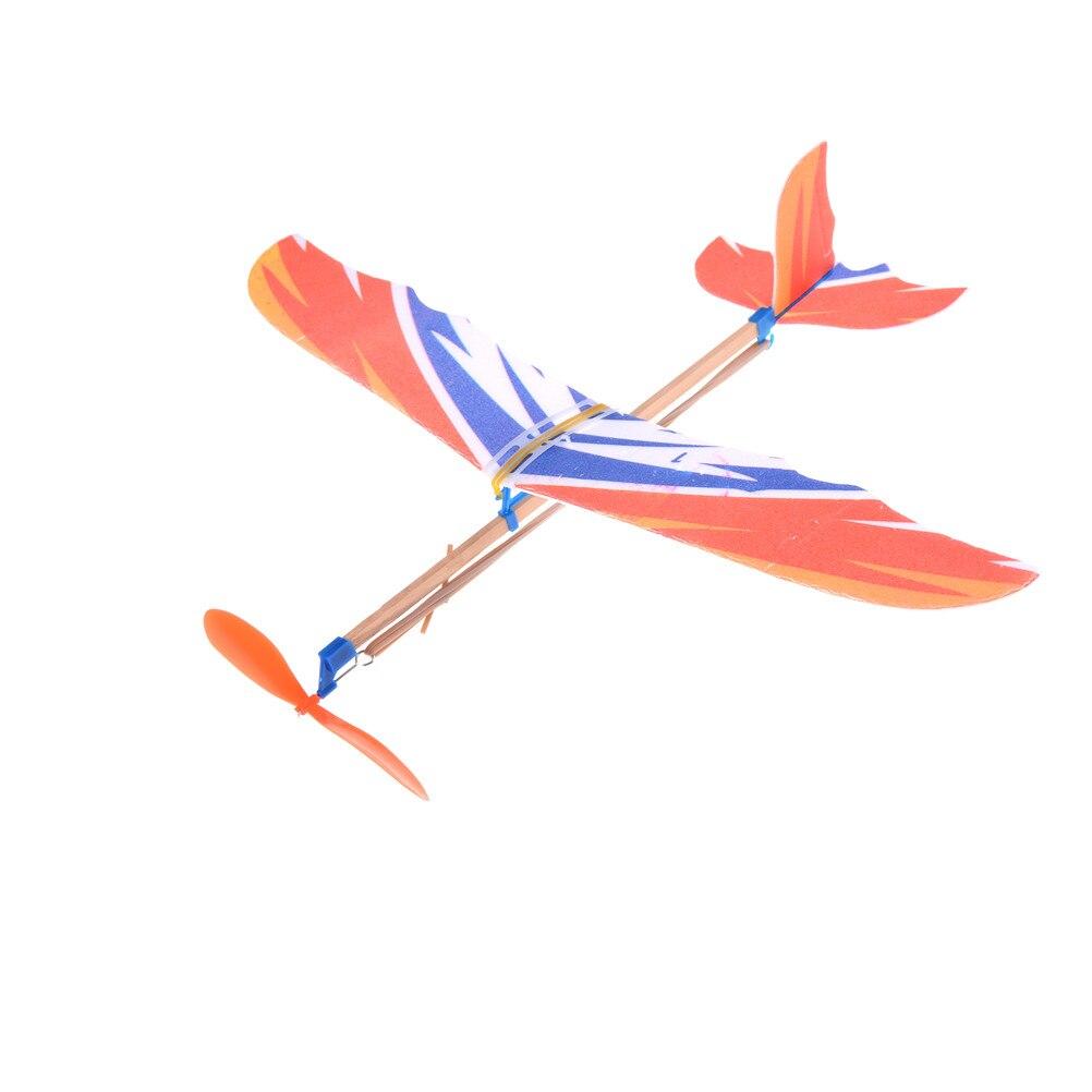 Горячая Распродажа 1 шт. сделай сам резиновая модель самолета набор из пены