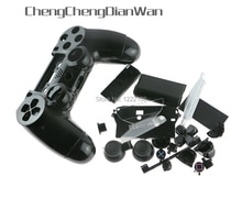 ChengChengDianWan JDM-001 JDM-011 bunte Shell fall mit Knopf Kits für PS4 Playstation 4 Controller Gehäuse Shell Fall Abdeckung