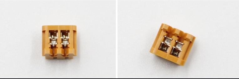 02XR-6Y-P موصلات JST بعلب 100%, أجزاء جديدة وأصلية صفراء اللون