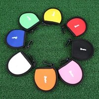 neoprene 1 pc portable mini compact golf ball bag golf tee holder storage case carry pouch small waist bag for practice training