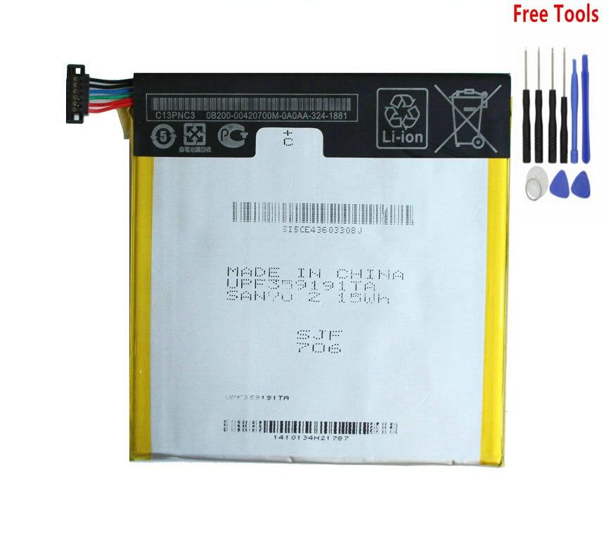 """1x batería de repuesto de 3950mAh para Asus Google Nexus 7 """"7 II 2 2nd Gen 2013 C11P1303 ME571 ME57K ME57KL K009 K008 batería + herramienta"""