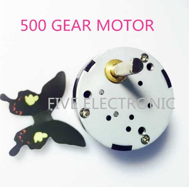 Motor de engranaje 12 V 50 RPM 500 DC, uso para equipos de Spooling/herramientas rotativas/modelo de bricolaje