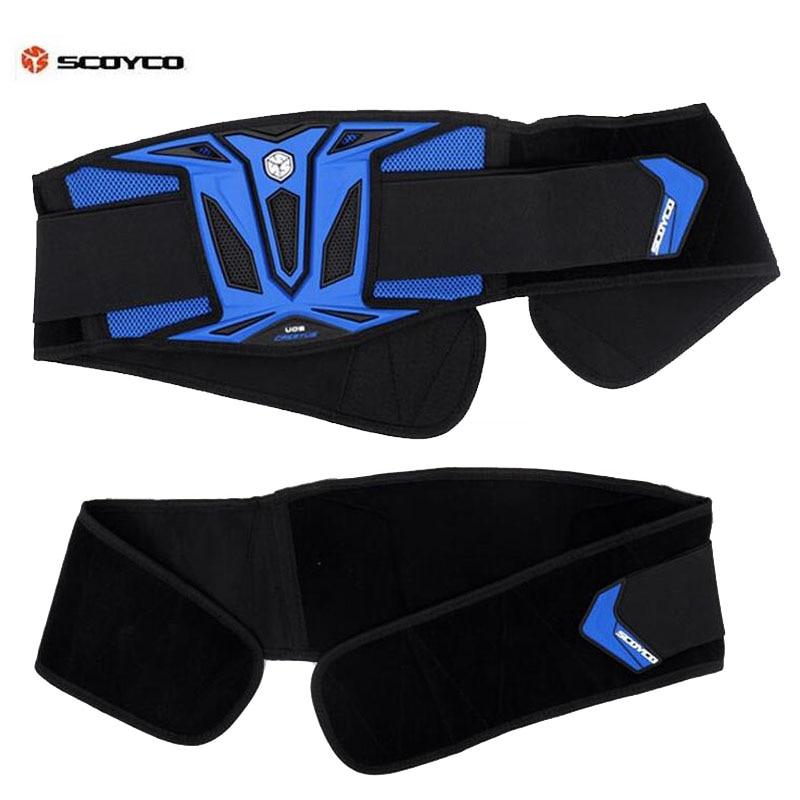 Cinturón SCOYCO U08 para motocross, cascos de motocicleta todoterreno, soporte protector de cintura