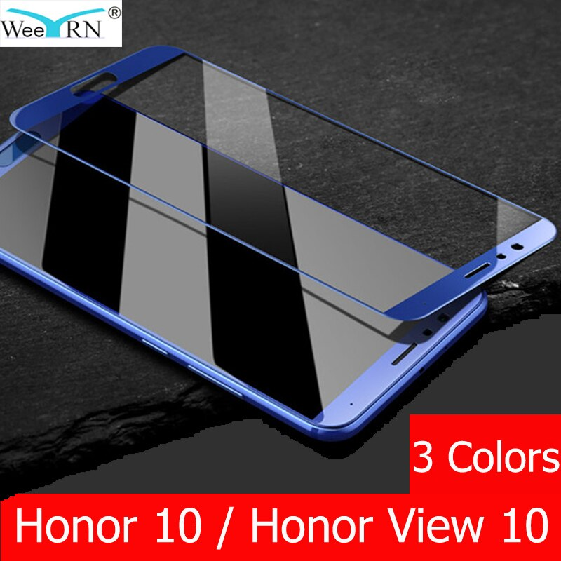 9H 2.5D Completa cristal templado Huawei Honor 10 / cristal templado Honor View 10 Screen Prtoector Huawei Honor 10 protector pantalla Huawei Honor View 10 Glass