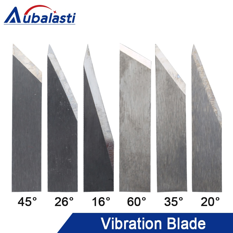 Rui zhou Вибрационный нож для резки лезвия режущая головка одно лезвие двойное лезвие 16 градусов 26 градусов 45 градусов