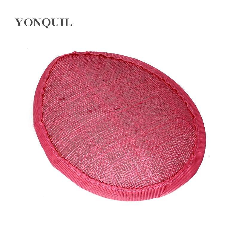 Sinamay Fascinator Base 13CM Teardrop Fascinators Hat For Women Wedding Party DIY Hair Accessories L