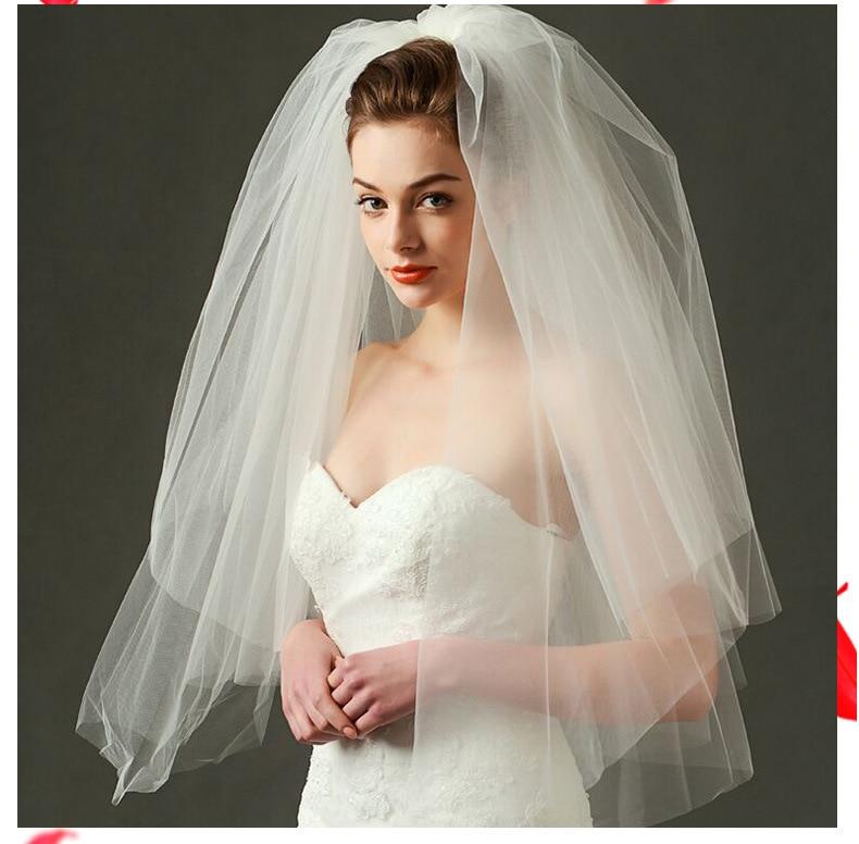 MIARA. L alta qualidade multi-camada de noiva fofo macio acessórios do casamento de fios de malha