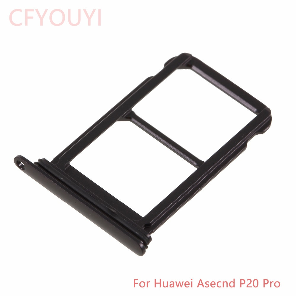 Dual SIM Card Tray Slot Part For Huawei P20 Pro SIM Card Tray Holder Slot Adapter Replacement Parts