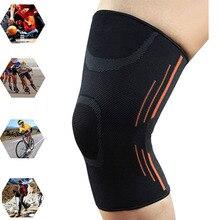 Sport course Compression jambe manches cyclisme jambières hommes femmes Fitness Sport Muscle mollet genou soutien Football douleurs articulaires