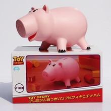 20cm Toy Story Hamm hucha Pink Pig Coin Box juguetes de figuras de PVC con caja al por menor o en bolsa opp