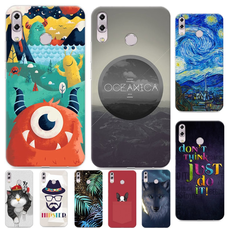 """ZS620KL New Cool cartoon Case For Asus ZenFone 5z ZS620KL Pretty interesting Color Printing Case For Asus Zenfone 5z 2018 6.2"""""""