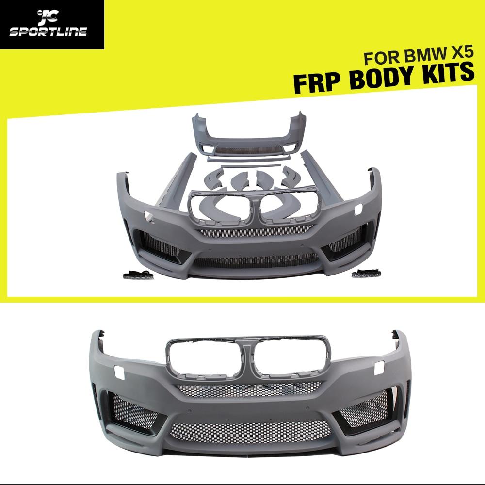 Kits de carrocería de coche FRP para BMW F15 X5 2014 2015 2016