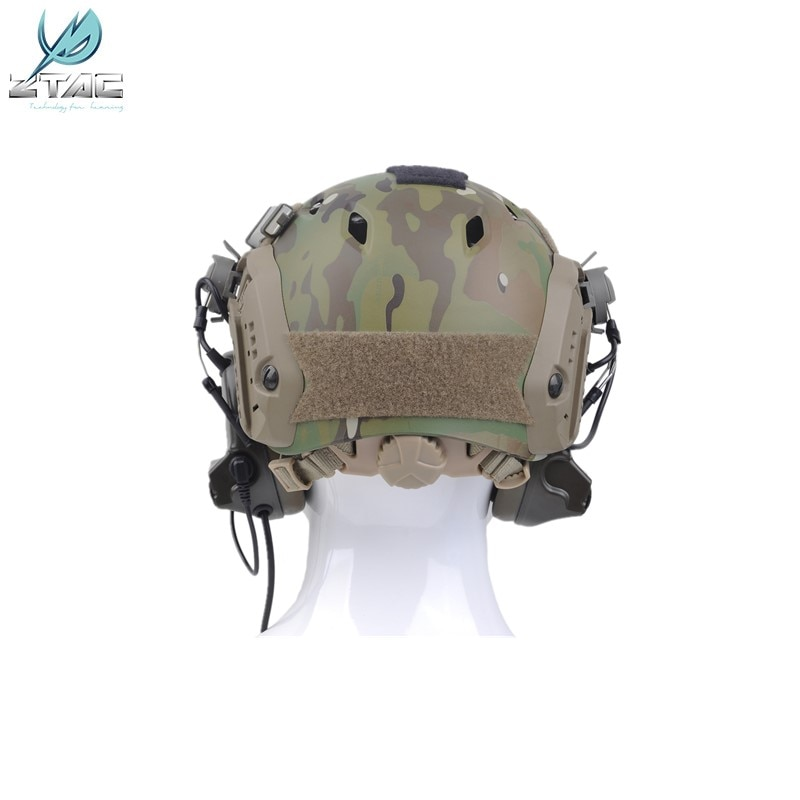 Element Z-TAC Z031 Comtac II Headset With Peltor Helmet Rail Adapter Set For FAST Helmets Military Airsoft Tactical Headphone enlarge