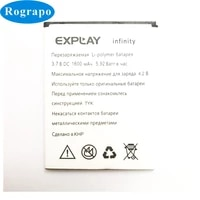 new 3 7v 1600mah new infinity replacement battery for explay infinity 2 bateria batterie mobile phone batteries