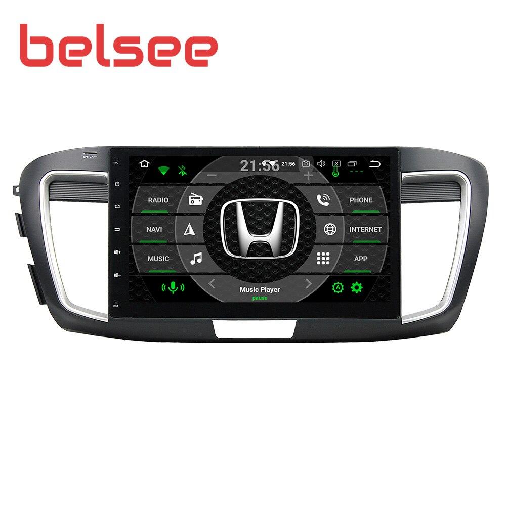 "Belsee Android 9.0 Auto Stereo für Honda Accord 9th 10,1 ""IPS Bildschirm 4GB 64GB 8 Core Radio Autoradio GPS Navigation Audio Player"