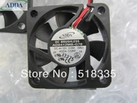 FOR ADDA AD0412MB-G70 4cm 40mm 40*40*10mm 4010 1.5 x 7/16 Fan 0.08A 12V DC 2pin