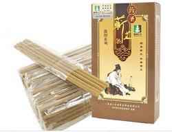 Lishizhen moxa moxabustão vara facial com fumaça tipo 4 milímetros 70pcs rosto massagem moxabustão vara moxa acupuntura massagem
